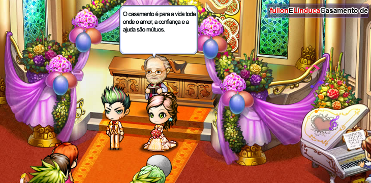 Primeiro                   casamento de fullon & Linduca