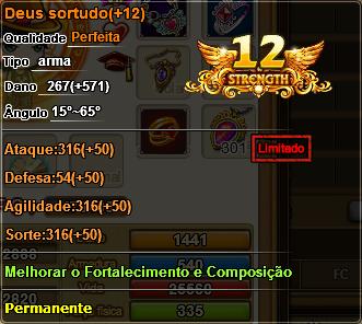 Deus               Sortudo +12