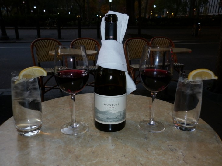Pinot Noir at Rouge - Philadelphia